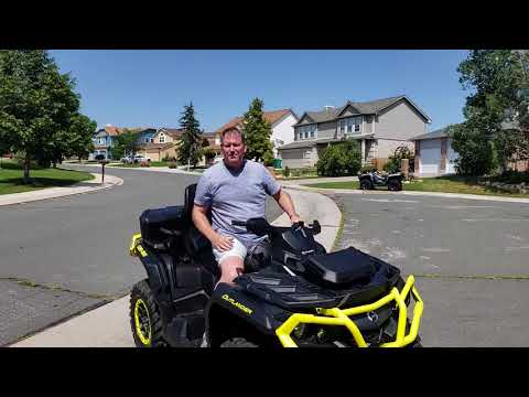 2019 Can-Am Outlander Max XTP 1000 Stability Test