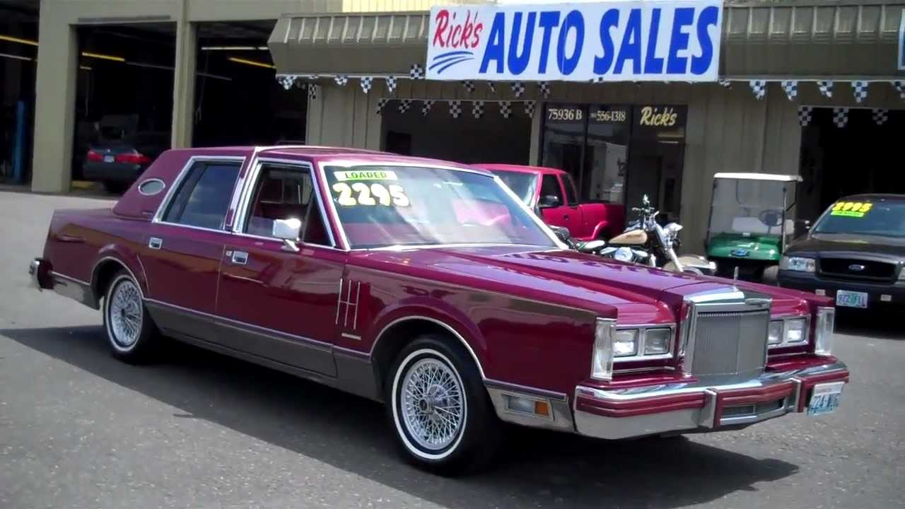 1981 lincoln mark 6 sold youtube rh youtube com 2000 Lincoln Town Car Lowrider 2000 Lincoln Town Car Lowrider