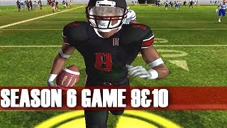DOMINATION - NCAA FOOTBALL 06 PRIME U DYNASTY (S6G9&10)