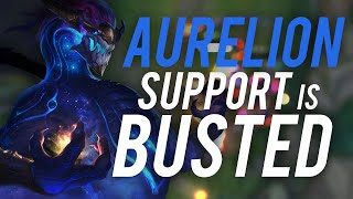 Imaqtpie - AURELION SUPPORT IS BUSTED ft.IWDominate