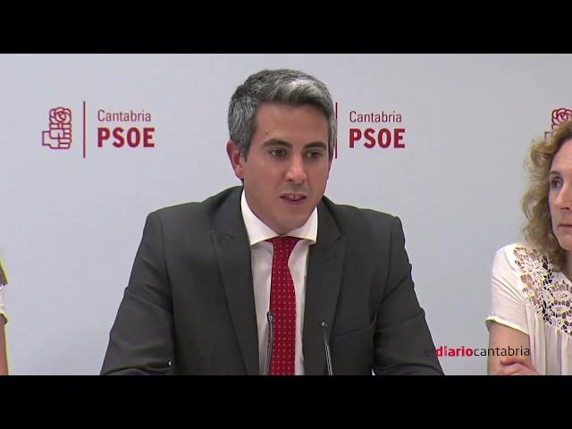 Rueda de prensa de Pablo Zuloaga sobre los cambios en el Gobierno
