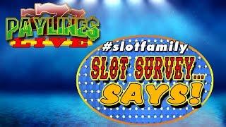 🔴 SLOT SURVEY SAYS SEASON 1 MARATHON! ★#slotfamily Feud  RETURNS THIS JANUARY