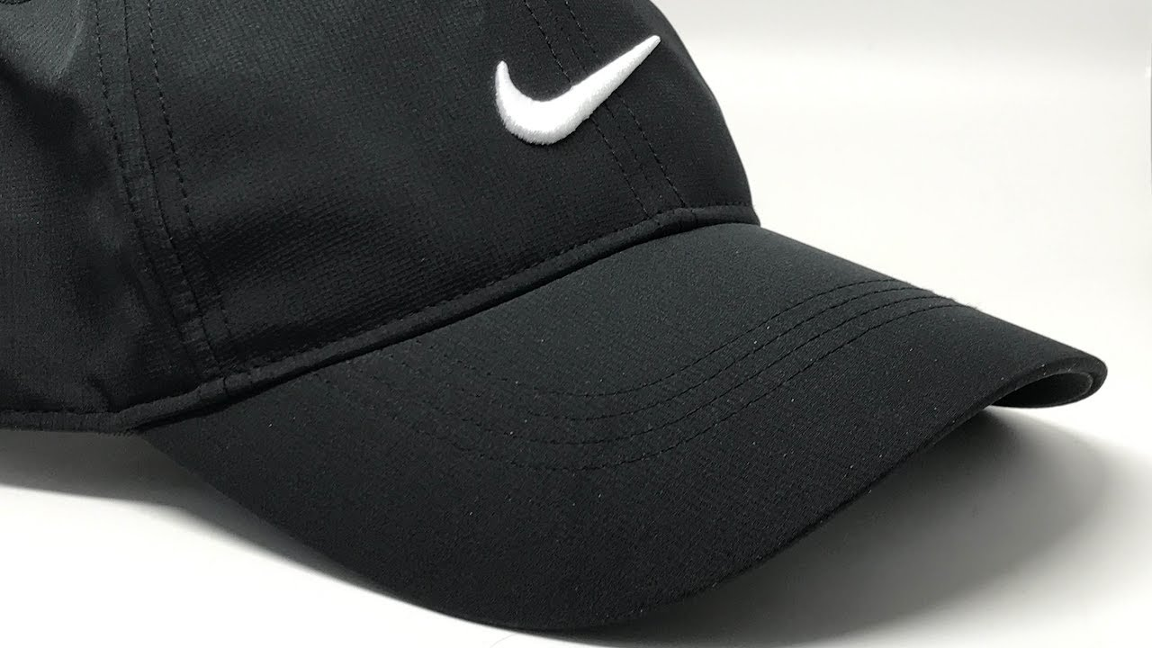 b7dbfb0dc4c11 Nike Mens Golf Legacy91 Tech Adjustable Cap Black 4K  - YouTube
