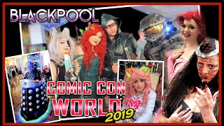 COMIC CON WORLD Blackpool 2019