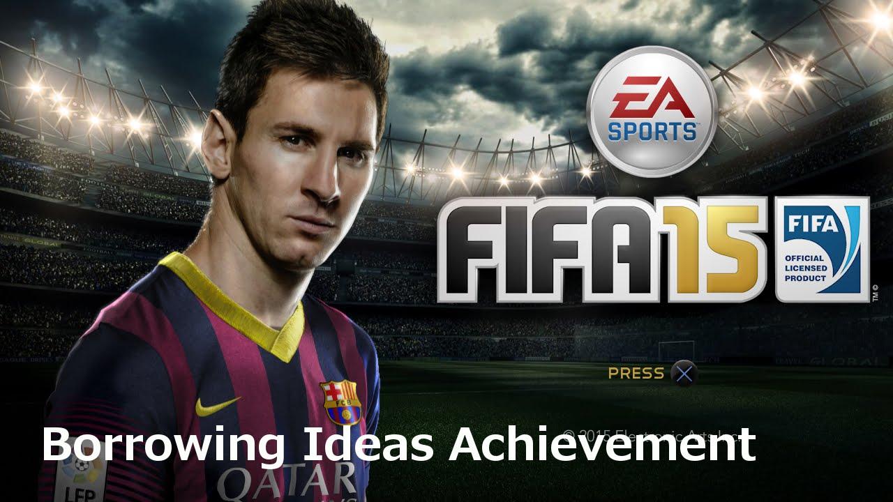 Heel To Toe Fifa 15 >> Fifa 15 Borrowing Ideas Achievement I Trophy Youtube