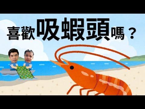 蝦頭裡都是大便?我們都在吃海膽的生殖器官?蝦頭哥吸蝦頭的住院奮鬥史! 好倫