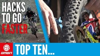 Top 10 Hacks To Make You Faster | Mountain Bike Skills & Tips