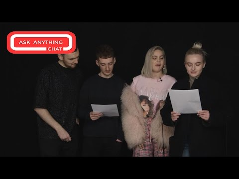 Clean Bandit Anne Marie MRL Ask Anything Chat w/ Romeo (Full Version)