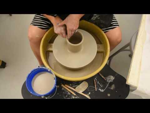 Throwing a Mug-Ceramics I-Ms. Greninger-NCS-PFAA