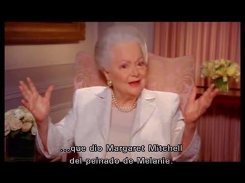 """Olivia De Havilland recuerda """"Lo que el viento se llevó"""" (Remembers """"Gone with the Wind"""")"""