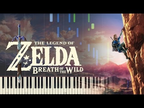 The Legend of Zelda: Breath of the Wild - Trailer Music - Piano (Synthesia)