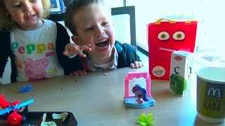 Трансформеры игрушки Хеппи Мил МакДональдс Transformers toys Unboxing Happy Meal McDonalds