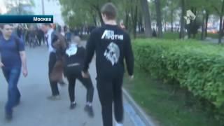 """Нетрезвые москвичи устроили драку с активистами движения """"Лев против"""""""