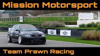Hot laps of Goodwood for Mission Motorsport