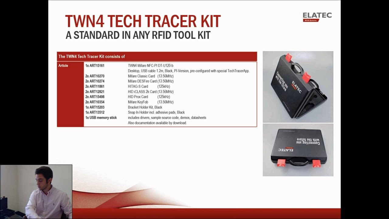 RFID Card Analyzer & SDK - buy Elatec TWN4 Kit