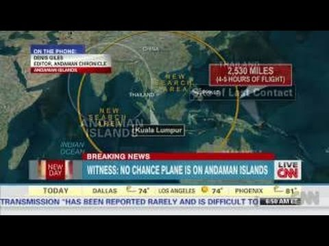 Malaysian Airlines MH370 Andaman Island 'did it land here'