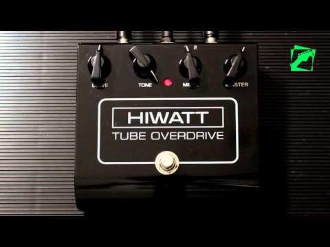 HIWATT Tube Overdrive - demo, reamping test