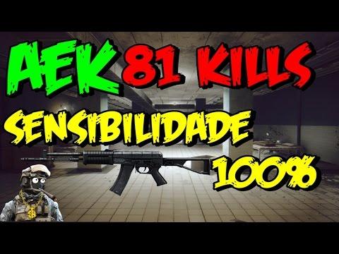 BF4 - AEK SEM MIRA , C/MOUSE SENSIBILIDADE 100% 81 KILL'S | PeXe Challenger Series #4