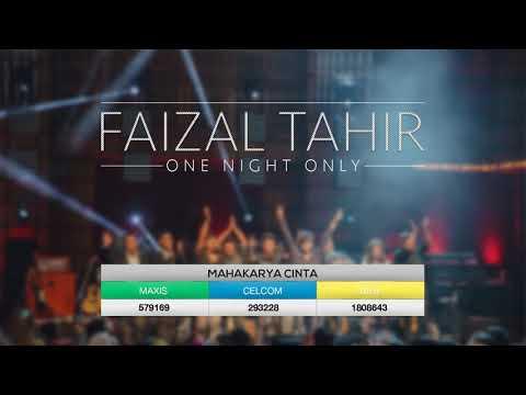 Faizal Tahir - Mahakarya Cinta (LIVE from Dewan Filharmonik Petronas)