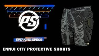 Ennui City Protective shorts - Speaking Specs