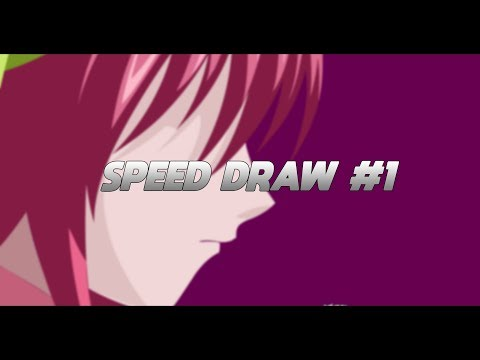 SpeedDraw #1 | Lucy (Elfen Lied) Minimalistic (Free official download in description)