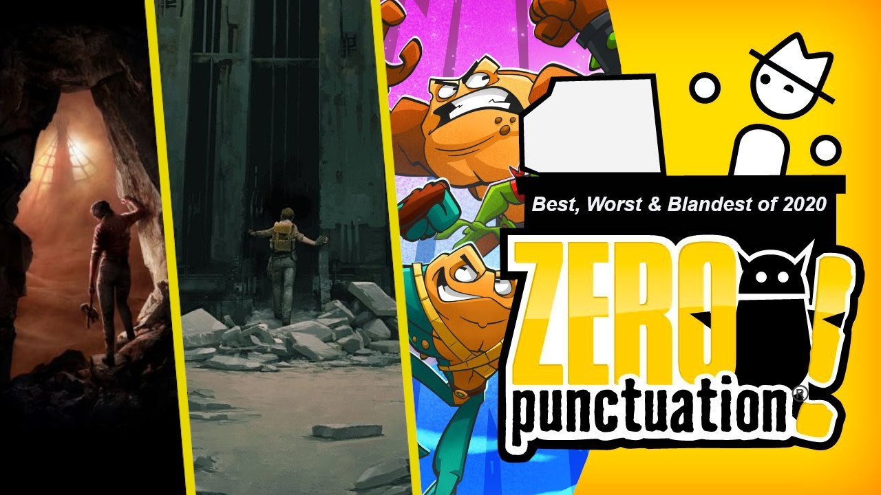 The Best, Worst & Blandest of 2020 (Zero Punctuation) (Video Game Video Review)