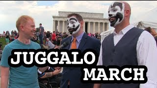 Joe Goes To The Juggalo March
