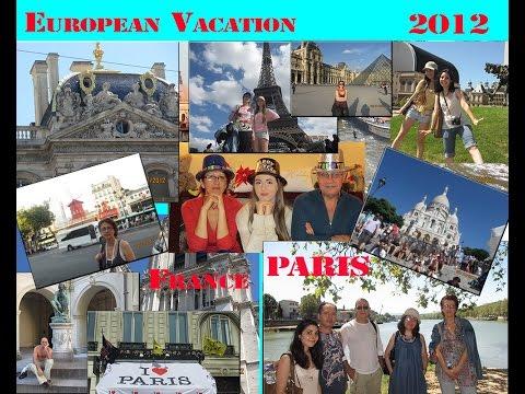 Saryan Family Vacation in Paris, France, 2012