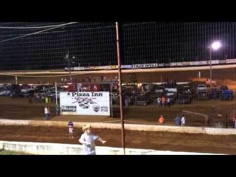 National Anthem and Fireworks! - Tazewell Speedway