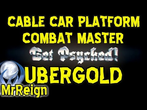 Wolfenstein - The Old Blood - Combat Master - Cable Car Platform - UberGold Rank