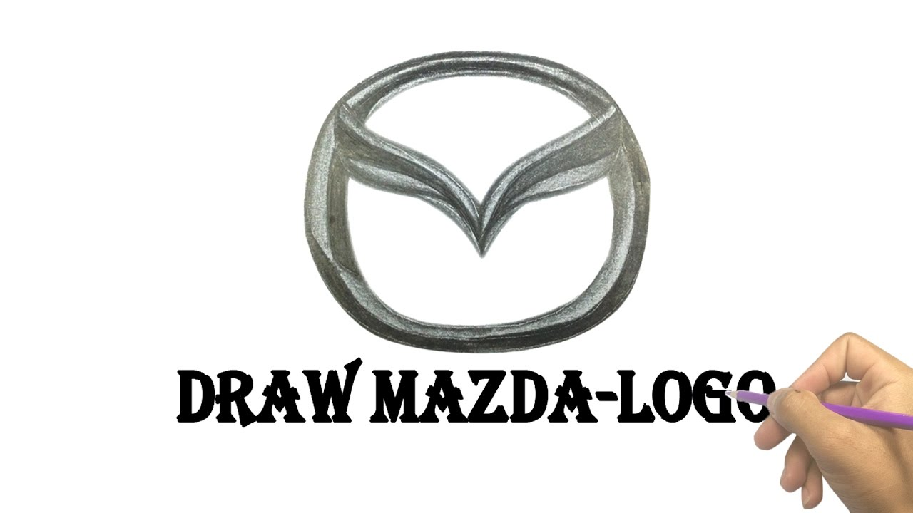 How To Draw Mazda Logo Looking For Mazda Logo Youtube Videos