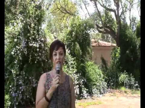 Malka speaks about the Summer Kibbutz Ulpan