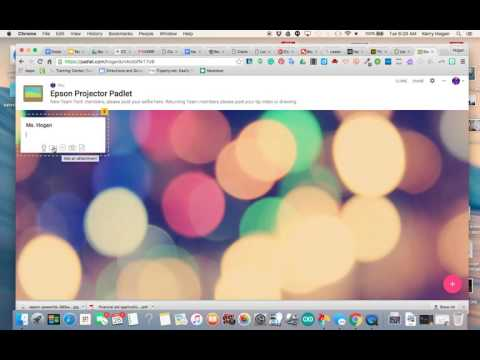 How to Post to Padlet 2016