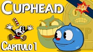 Cuphead: Primer Jefe - Gameplay - (Capitulo 1) - (HD)