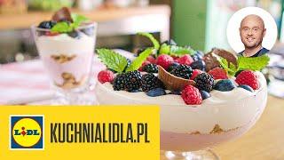 CHEESECAKE pudding z owocami  | Paweł Małecki & Kuchnia Lidla