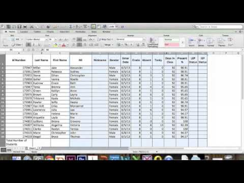 How to make a CSV file