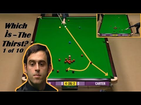 SNOOKER MOST PERFECT-  K -BALLS OF THE HISTORY!!! WHICH IS THE THIRST