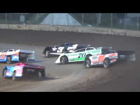 Plymouth Dirt Track Late Model Feature Highlights 7 15 2017