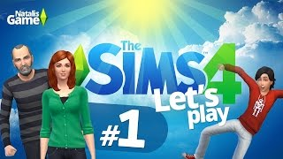 The Sims 4 Поиграем?: Семейка Митчелл / #1 Осчастливить Боба