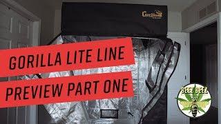 Gorilla Grow Tent Lite Line Preview Review