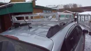 видео Дуги на крышу, крепеж, корзины
