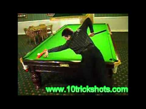 Trick shots snooker billiard and pool trick shots - Awesome swimming pool trick shots ...