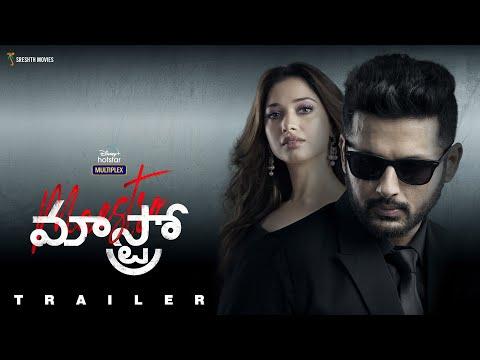 Maestro   Official Trailer   Nithiin, Tamannah Bhatia, Nabha Natesh, Jissu Sen Gupta   Coming Soon
