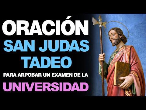 🙏 Oración a San Judas Tadeo PARA APROBAR UN EXAMEN de la Universidad 🙇