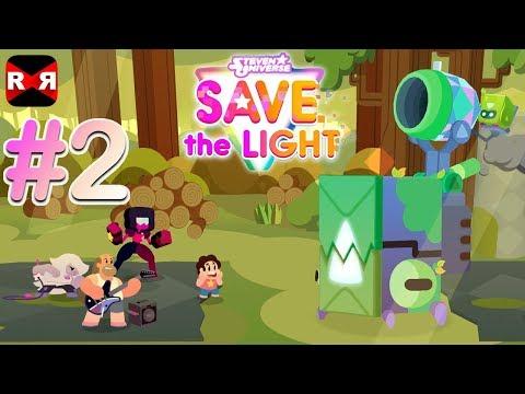 Steven Universe: Save the Light - Beach City Woods Walkthrough Gameplay Part 2