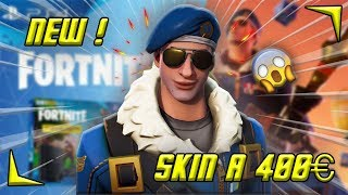 THE BEST SKIN FORTNITE A 400- ROYAL BOMBER (royal gunner) gameplay Ps4 pro- EN