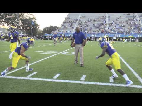 University of Delaware First Football Game Student Highlights