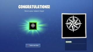 FREE Rare Compass Banner Icon! (Fortnite)