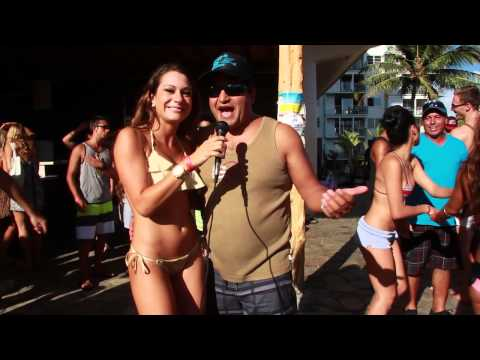'Bacardi Pool Party' at the Queen Kapiolani