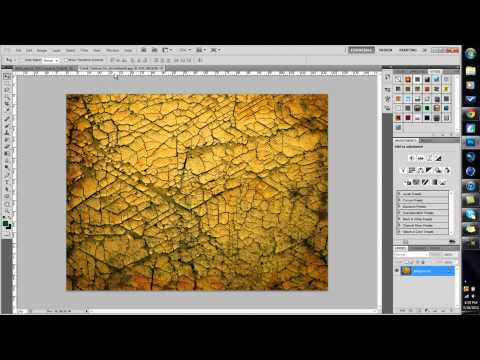 How To Put Textures On Text | Photoshop Tutorial